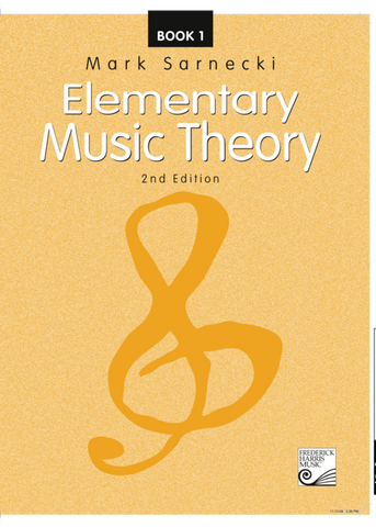 RCM - Mark Sarnecki Elementary Music Theory, 2nd Edition: Book 1