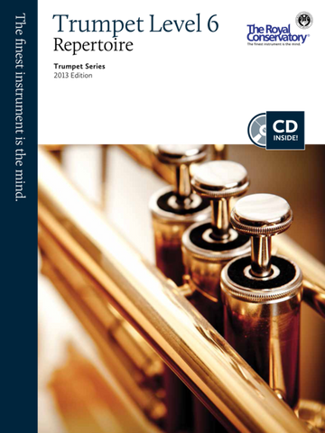 RCM - Trumpet Repertoire Level 6