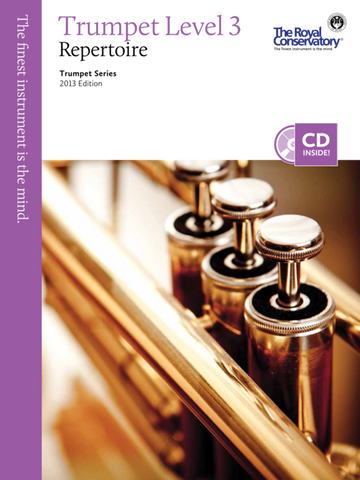 RCM - Trumpet Repertoire Level 3