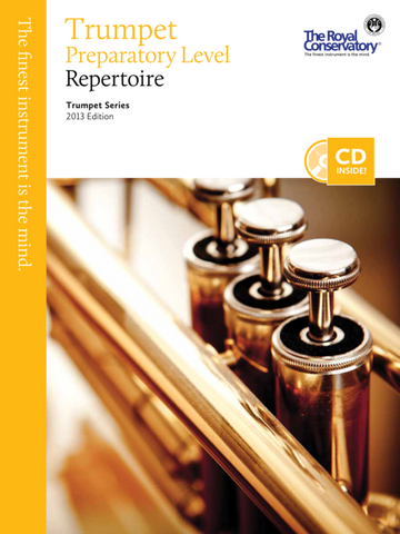 RCM - Trumpet Repertoire Preparatory Level