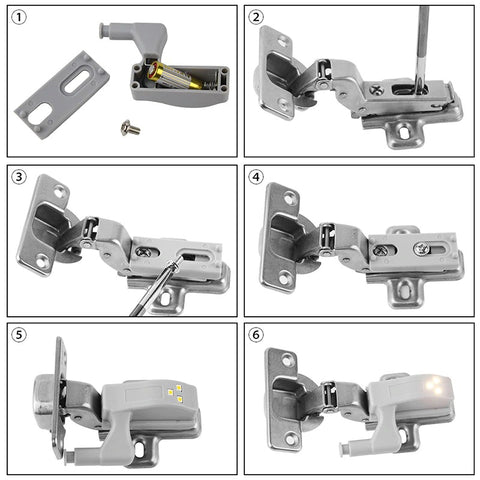 CabiLight Auto LED Cabinet Light Is Easy To Install