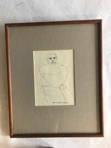 Figurative Ink Drawing - The Sweetwood Collection