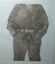 "Surreal Etching of a Man , ""Man-Root"" artist McCall - The Sweetwood Collection"