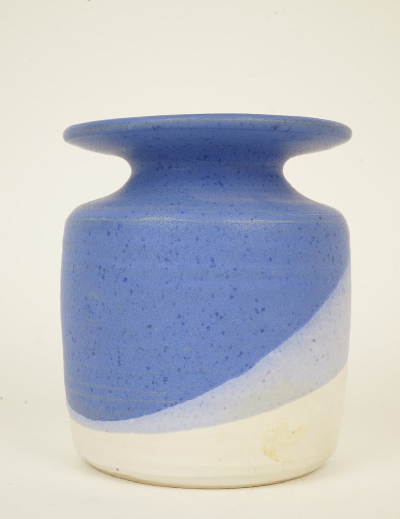 Pottery Vase in Shades of Blue