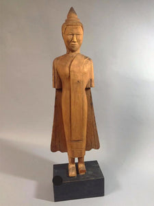 Wooden Asian Standing Eternal W/ Base. - The Sweetwood Collection