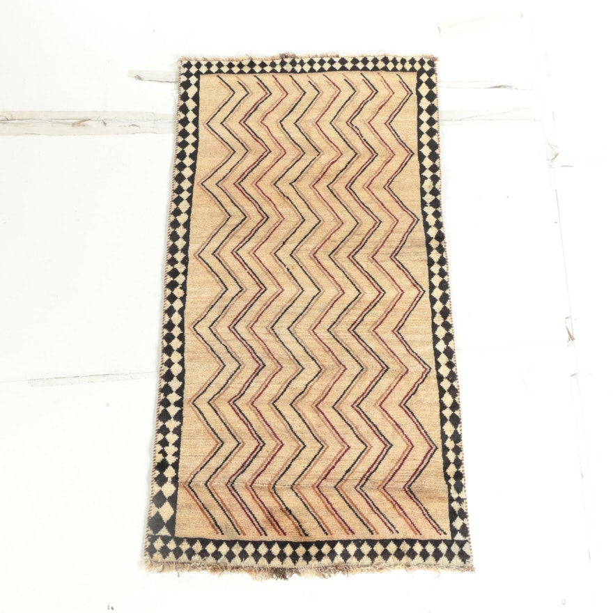 Hand-Knotted Persian Gabbeh Accent Rug - The Sweetwood Collection