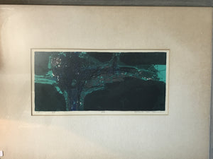 "1964 ""Grotto"" by Douglas H Teller, signed - The Sweetwood Collection"