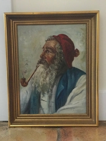 Portrait of a bearded man paint - The Sweetwood Collection
