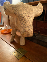 Paper Mache Vintage Bull - The Sweetwood Collection