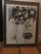 "Framed Polychrome serigraph called ""Early Birds"" - The Sweetwood Collection"