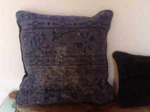 Turkish carpet pillows - The Sweetwood Collection