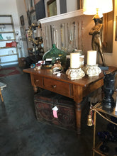 Antique 2 drawer table late 1800's - The Sweetwood Collection