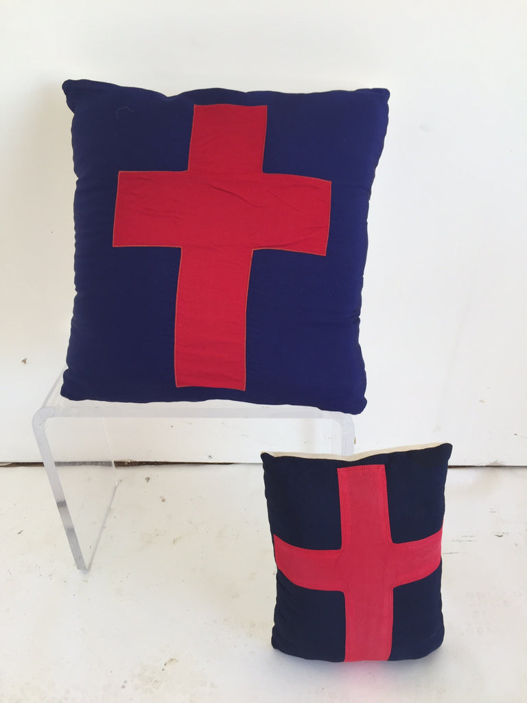 Vintage Flag Pillows - The Sweetwood Collection