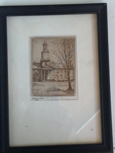 Etching by Don Swann