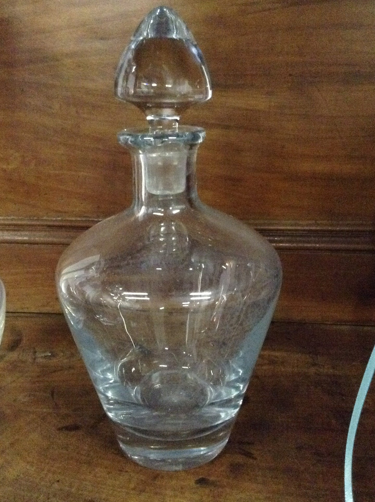 Various Glass decanters- Vintage - The Sweetwood Collection