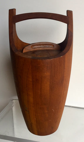 Set of Teak Ice bucket, Beverage tray & trivet's by Jens Quistgaard for Dansk - The Sweetwood Collection