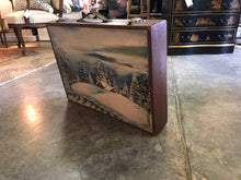 Vintage painted scent paintbox/briefcase - The Sweetwood Collection