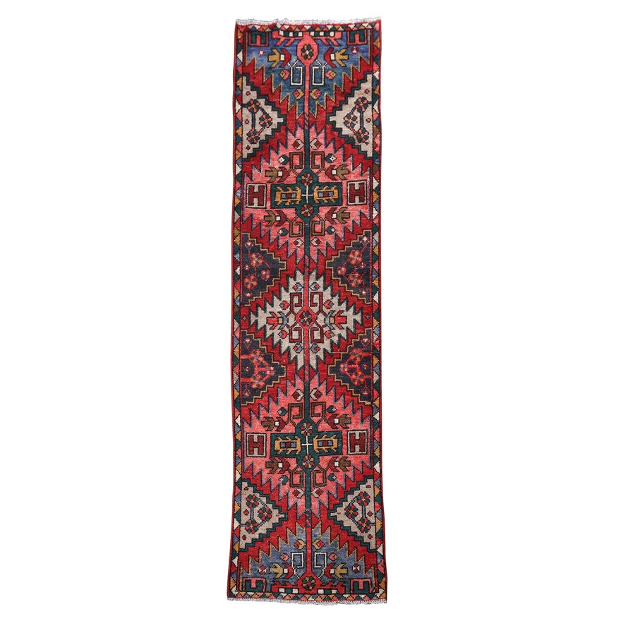 Hand-Knotted Persian Wool Carpet Runner - The Sweetwood Collection