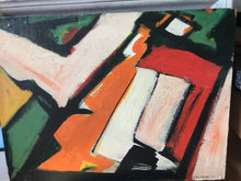 Mid Century Abstract on Board, 1967,signed. - The Sweetwood Collection