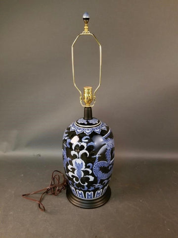 Chinese Ginger jar lamp - The Sweetwood Collection