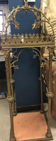 Ornate Brass architectural niche - The Sweetwood Collection