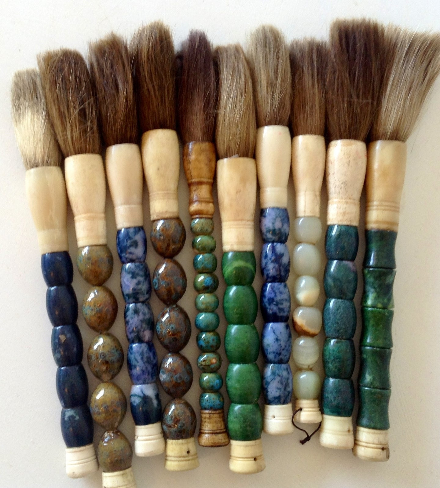 Small paint brushes - The Sweetwood Collection