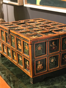 Vintage Indian Decorative Box - The Sweetwood Collection