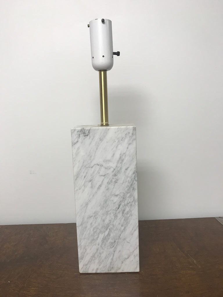 Vintage Nessen marble lamp - The Sweetwood Collection