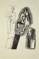 Single plate lithograph, 1955 after Picasso - The Sweetwood Collection