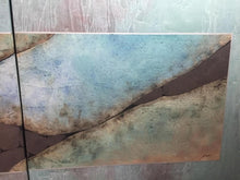 Modern Abstract Triptych on Canvas signed - The Sweetwood Collection