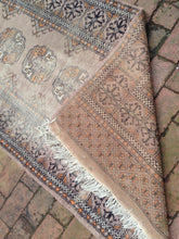 Hand Knotted Bokhara Red Carpet Runner
