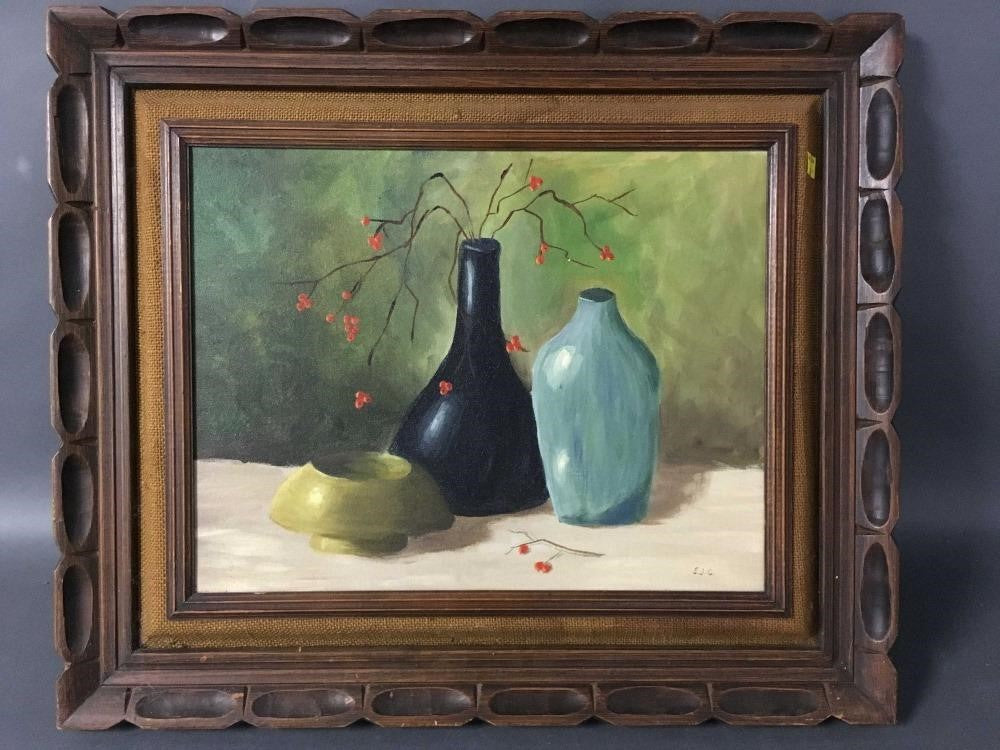 Still Life Oil on Canvas Painting - The Sweetwood Collection