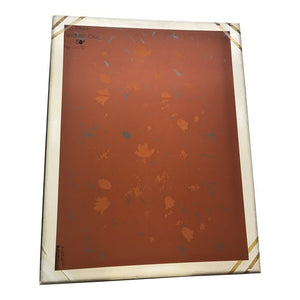 """Parisienne Floral"" Screen Press Silk Print"