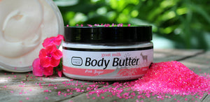 Want something fun and flirty for the summer? Try our Pink Sugar Body Butter!