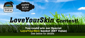 LOVE YOUR SKIN Contest - You could win $97 worth of our Products!