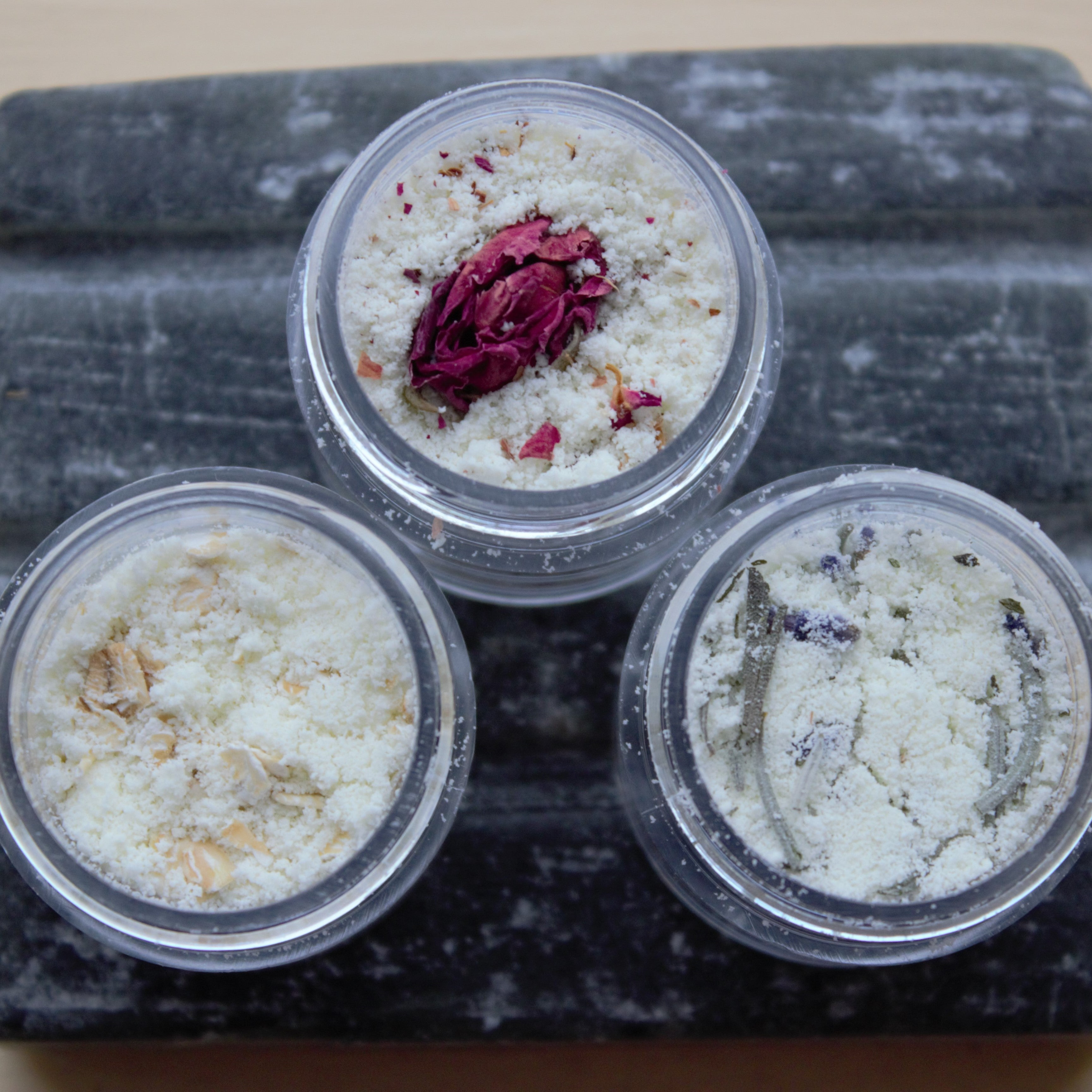 Goat Milk Bath Powder - Rose Petals