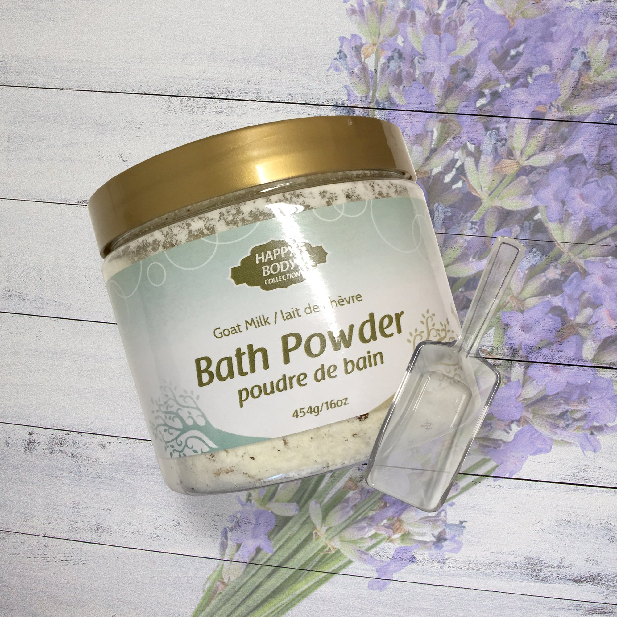 Goat Milk Bath Powder - Lavender