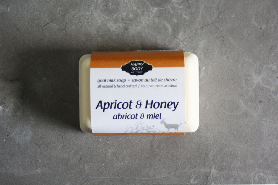 Apricot & Honey Goat Milk Soap