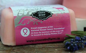 Tranquility Breast Cancer Awareness Goat Milk Soap