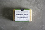 Cucumber with Green & Black Tea Goat Milk Soap