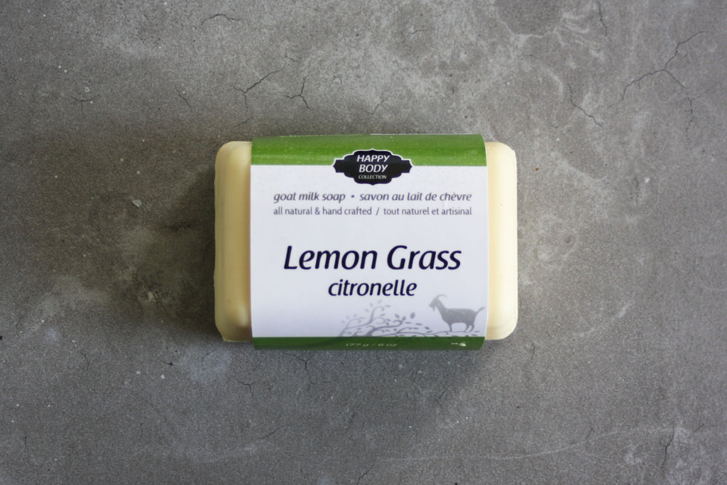 Lemon Grass Goat Milk Soap