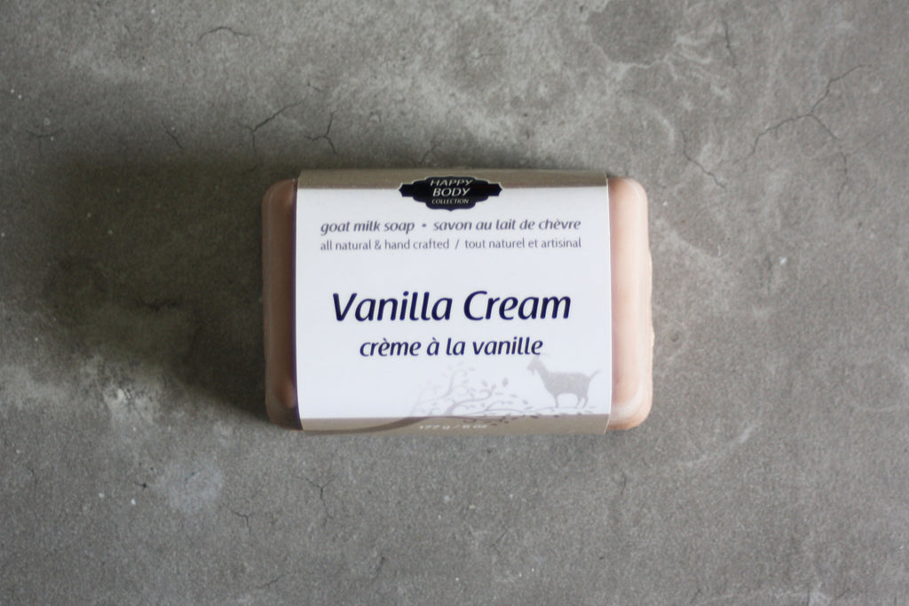 Vanilla Cream Goat Milk Soap