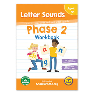 Phase 2 Letter Sounds Workbook