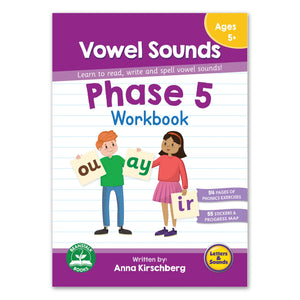 Phase 5 Vowel Sounds Workbook