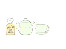 Load image into Gallery viewer, Tea Cup Cutter- single