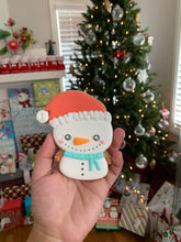 Load image into Gallery viewer, Penguin/Snowman with Santa hat Cutter