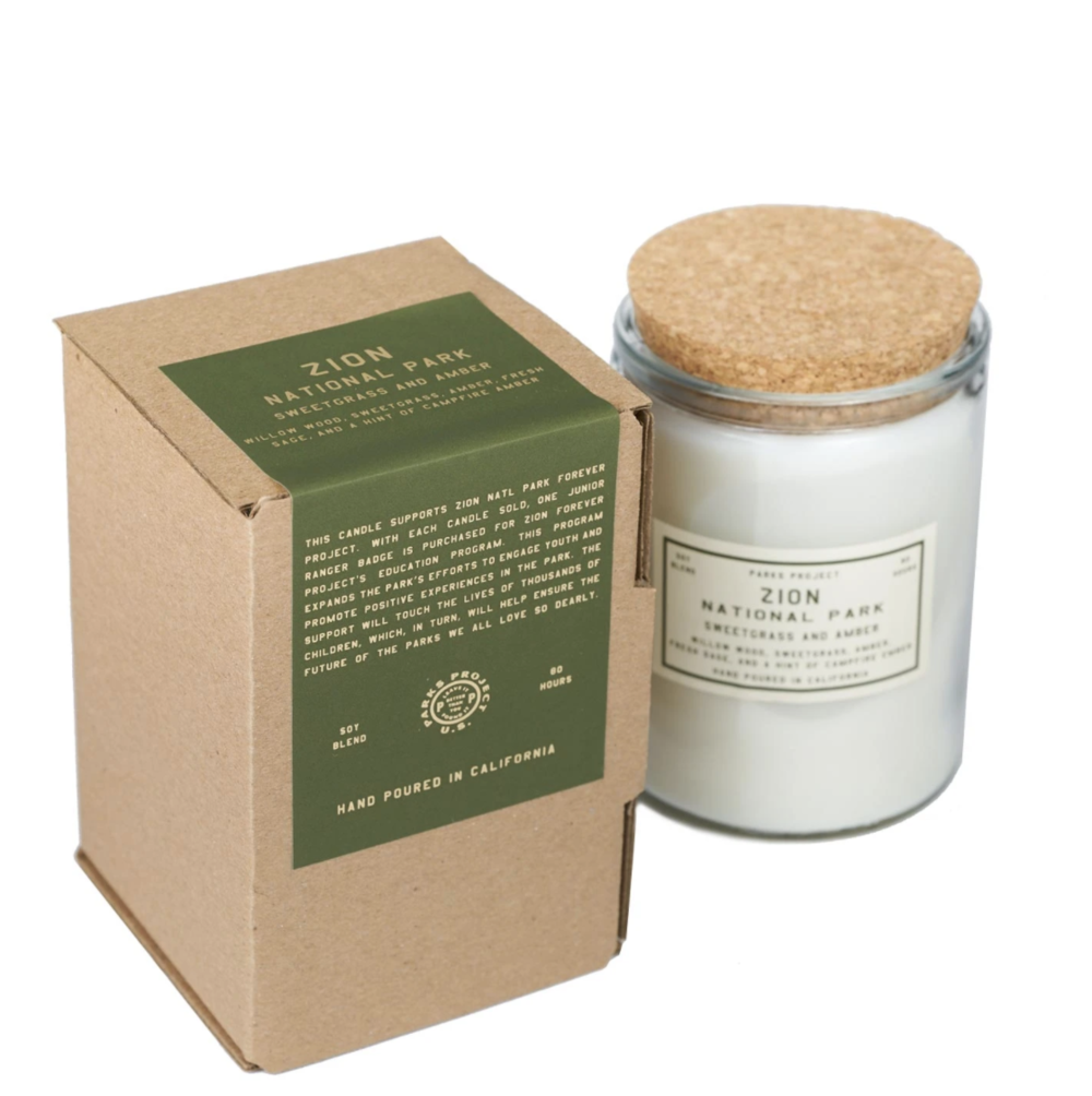 Parks Project Candle