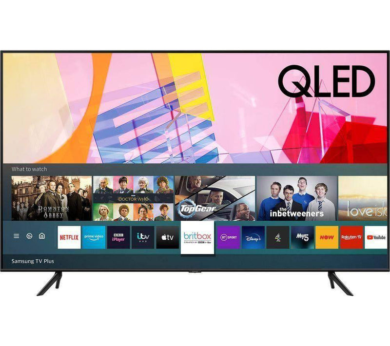 "SAMSUNG QE55Q60TAUXXU 55"" Smart 4K Ultra HD HDR QLED TV - digiland retail"