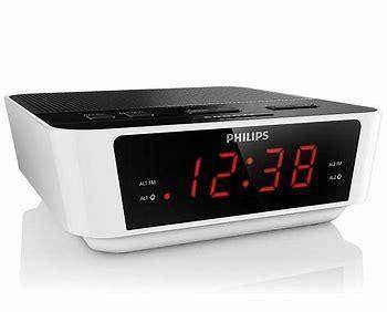 Philips AJ3115/05 FM Clock Radio with LCD Digital Display - White - digiland retail