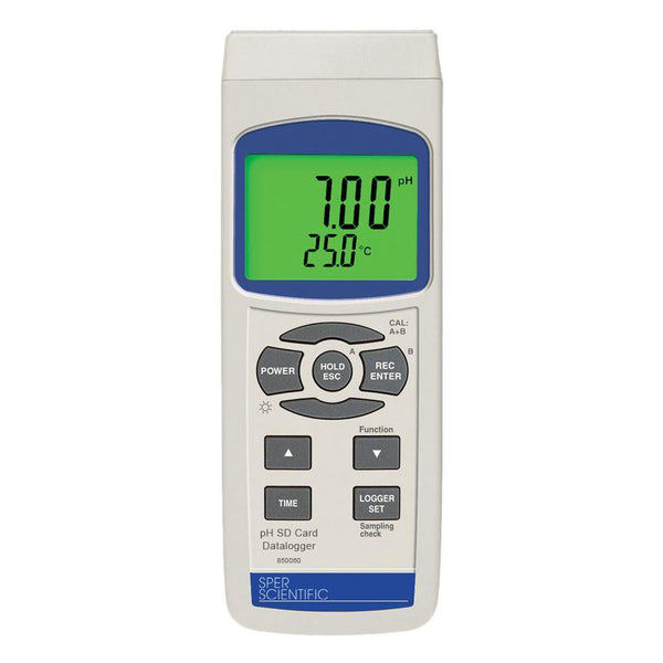 SD Card Datalogger pH Meter